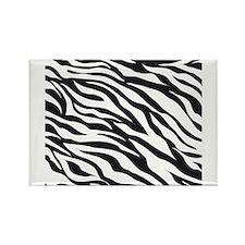 Zebra Animal Print Rectangle Magnet (100 pack)