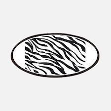 Zebra Animal Print Patches