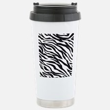 Zebra Animal Print Travel Mug
