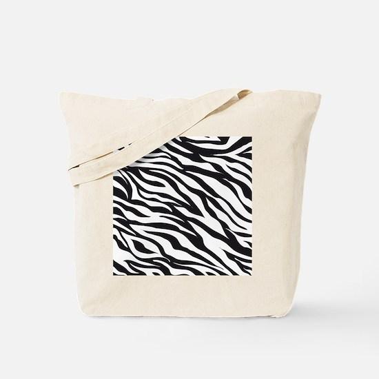 Zebra Animal Print Tote Bag