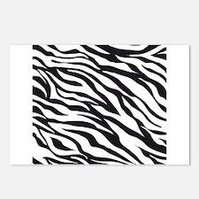 Zebra Animal Print Postcards (Package of 8)