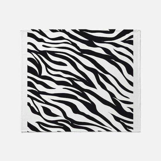 Zebra Animal Print Throw Blanket