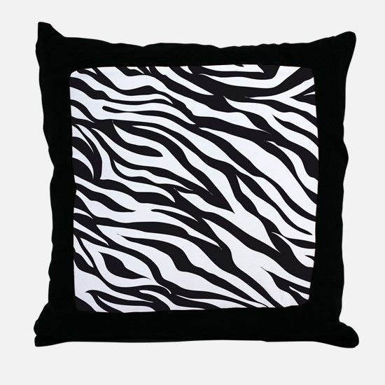 Zebra Animal Print Throw Pillow
