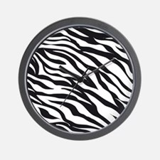 Zebra Animal Print Wall Clock