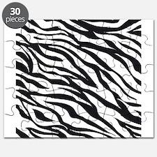 Zebra Animal Print Puzzle