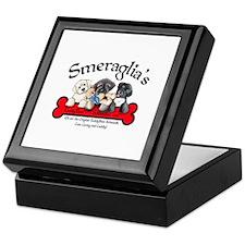 TeddyBear Schnoodle Logo Keepsake Box