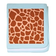 Giraffe Animal Print baby blanket
