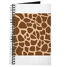 Giraffe Animal Print Journal