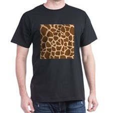Giraffe Animal Print T-Shirt