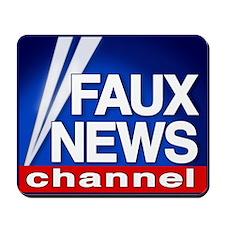 Faux News Channel - Mousepad