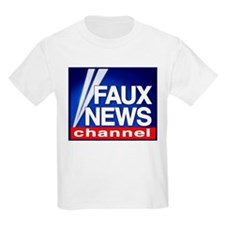 Faux News Channel - Kids T-Shirt