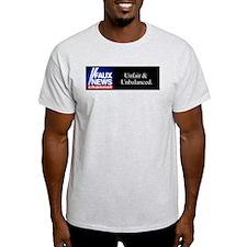Faux News Channel - Ash Grey T-Shirt