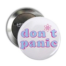 Dont Panic Hitchhikers Guide Button