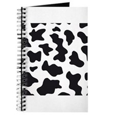 Cow Animal Print Journal