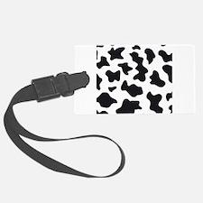 Cow Animal Print Luggage Tag
