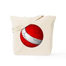 Scuba World Tote Bag