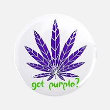 "Got Purple? 3.5"" Button"