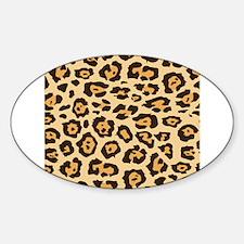 Leopard Animal Print Decal