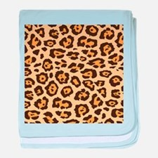 Leopard Animal Print baby blanket