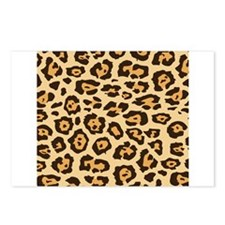 Leopard Animal Print Postcards (Package of 8)