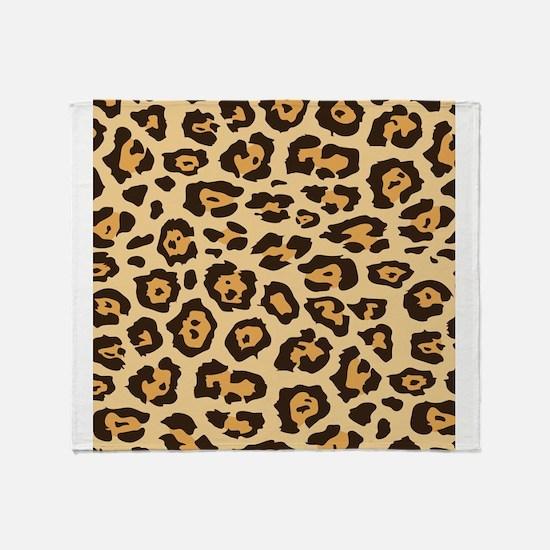 Leopard Animal Print Throw Blanket