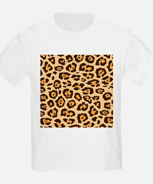 Animal print pattern kid 39 s clothing animal print pattern for Leopard print shirts for toddlers