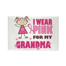 Wear Pink 4 Grandma Rectangle Magnet