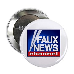 Faux News Channel - Button (10 pack)