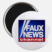 Faux News Channel - Magnet