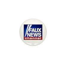 Faux News Channel - Mini Button (10 pack)