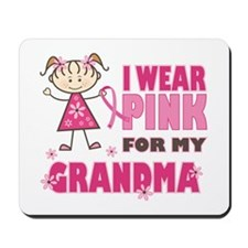 Wear Pink 4 Grandma Mousepad
