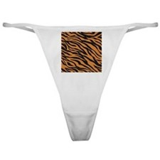 Tiger Animal Print Classic Thong