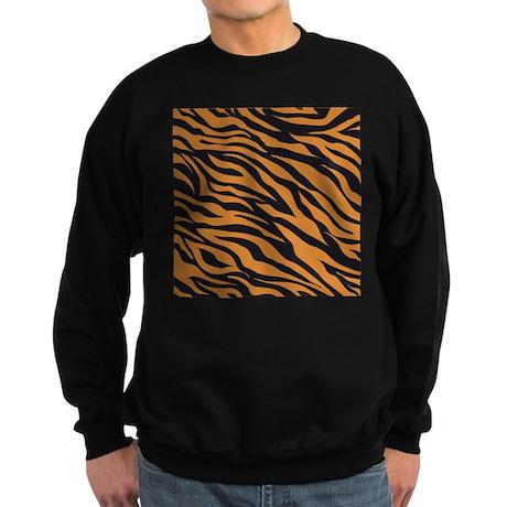 Tiger Animal Print Sweatshirt (dark)