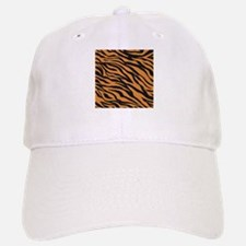 Tiger Animal Print Baseball Baseball Cap