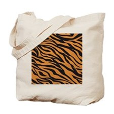 Tiger Animal Print Tote Bag
