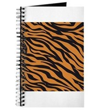 Tiger Animal Print Journal