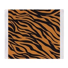 Tiger Animal Print Throw Blanket