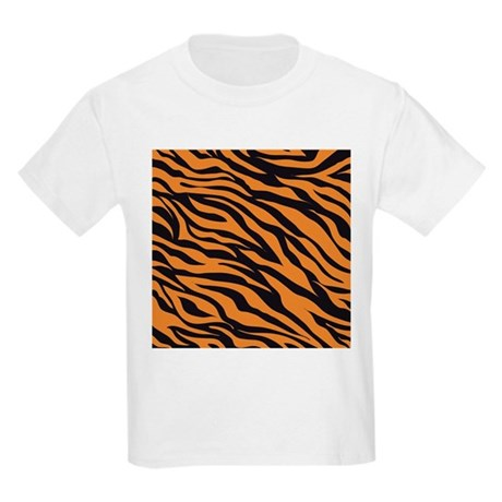 Tiger animal prin kids light t shirt tiger animal print t for Leopard print shirts for toddlers