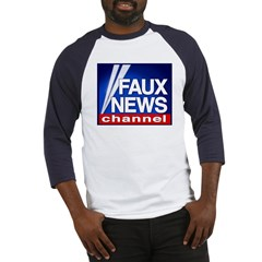 Faux News Channel - Baseball Jersey