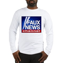 Faux News Channel - Long Sleeve T-Shirt