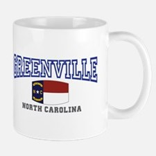 Greenville, North Carolina, NC, USA Mug