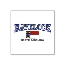 Havelock, North Carolina, NC, USA Square Sticker 3
