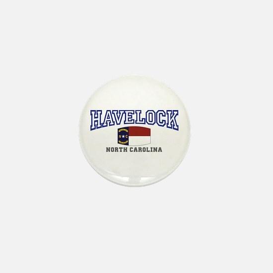 Havelock, North Carolina, NC, USA Mini Button