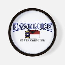 Havelock, North Carolina, NC, USA Wall Clock