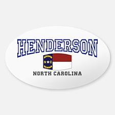 Henderson, North Carolina Decal