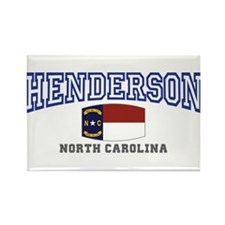 Henderson, North Carolina Rectangle Magnet