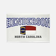 Henderson, North Carolina Rectangle Magnet