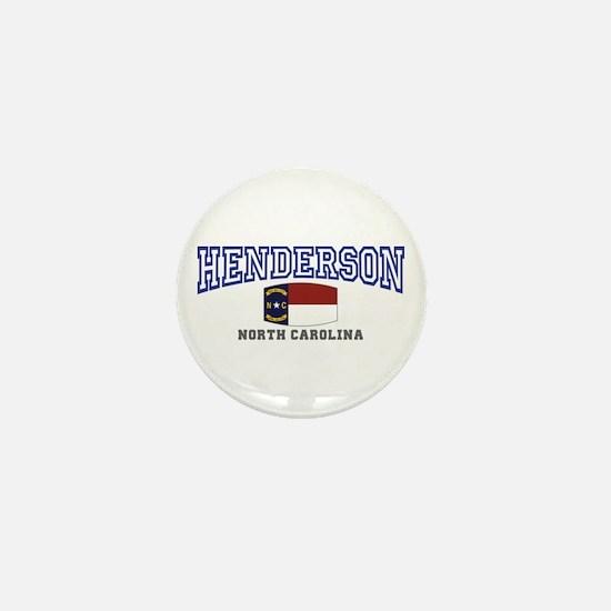 Henderson, North Carolina Mini Button