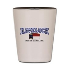Havelock, North Carolina, NC, USA Shot Glass
