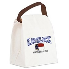 Havelock, North Carolina, NC, USA Canvas Lunch Bag